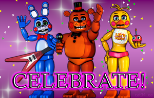 Poster Celebrate! by cat34-ea