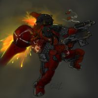 'Winged by fire' - part 1 - Reaper by fed0t