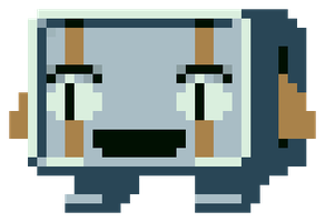 Cave Story - Balrog Icon by Doctor-Cool