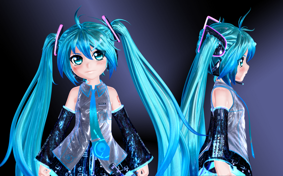 Mini Miku - WIP by GS-Mantis