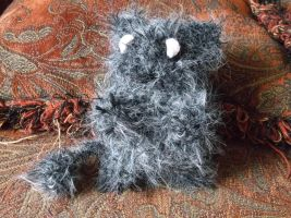 crochet fuzzy monster amigurumi by ShadowOrder7