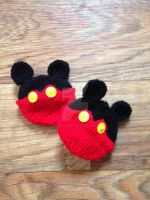 Mickey Mouse Party Pouches by CardinalCrocheting