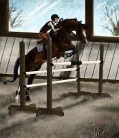 Schooling Fences by Jag6201