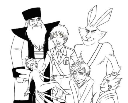 Iggy and the Guardians by mazoku-chan