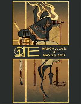 March to May 2017 Sketchbook by 1ore
