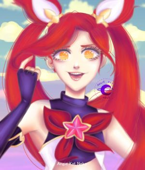 Star Guardian Jinx by AngieKatNekoOfficial