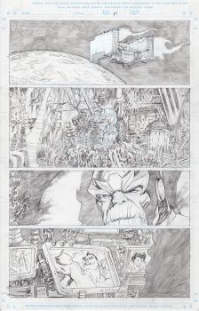 Marvel sample pencils page 1 by Dave-Acosta