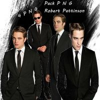 Pack png Rob Pattinson by Carol05
