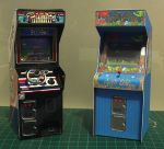 Paper Arcade machines by Wadyface