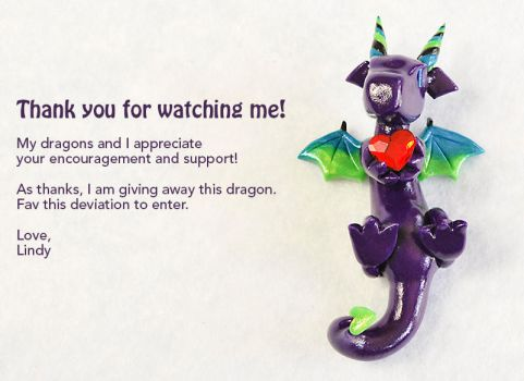 I Love My Watchers! [GIVEAWAY CLOSED] by HowManyDragons