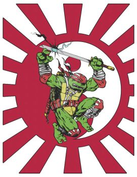 Ninja Turtles:  Turtle of the Rising Sun by Spitfire666xXxXx