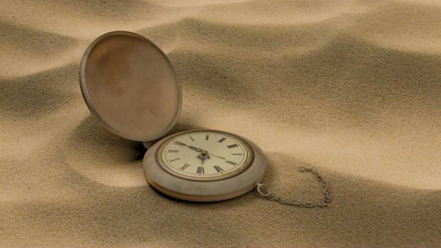 Forgotten Time in the Sand... by Terror-Inferno