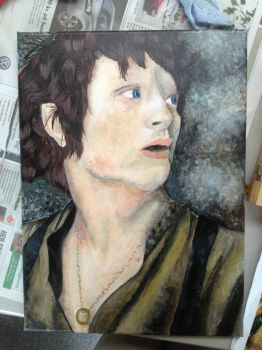 Frodo Baggins - WIP 1 by sdr-art