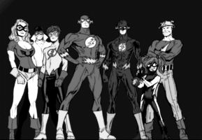 The Flash Family by Chickenmonkey707