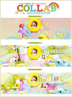 [Collab] Say Hello To Summer {with SeoLiliHyun} by bttmy