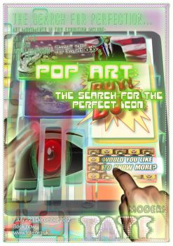 Pop Art Tate Modern Poster by POLY-NATION