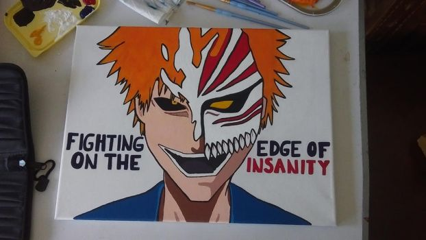 Ichigo painting by ClaudiaPPhotography