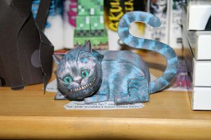 Cheshire Cat Papercraft by Dornogol