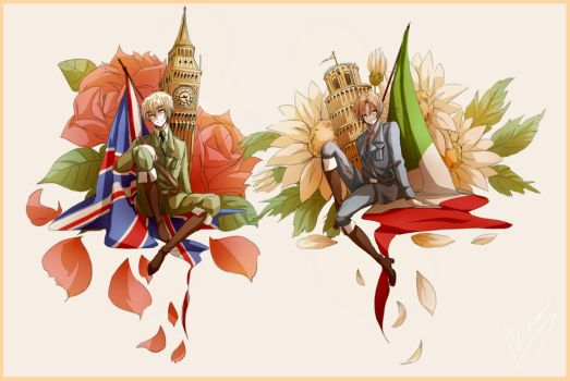 My Favorite Countries by janikol