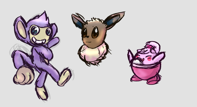 Pokedoodles by CraigMaster
