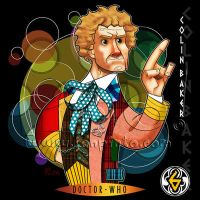 The Sixth Doctor by jonpinto