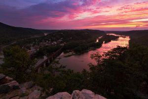 Harpers Ferry Sunset 3 by Mashuto