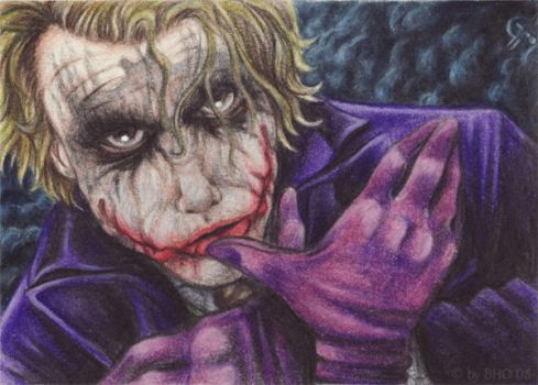 ACEO - Now there's a Batman by BloodhoundOmega
