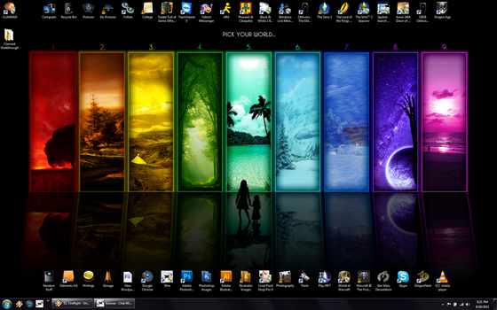 Desktop Screenshot by SongOfAwakening