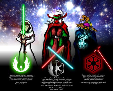 The Code of the Force by Scorpius007