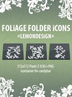 Foliage Folder Icons by lemondesign