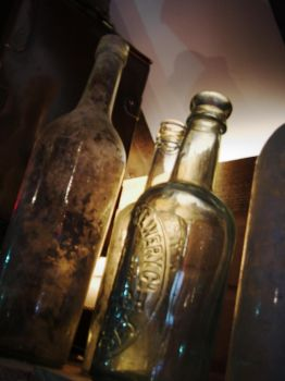 Old Bottles by CemaesMaritime