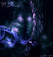 59. Blue by cosmogyral-delirium