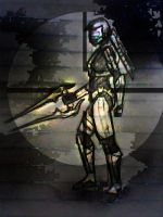 Sniping Spartan 326 by RoxyRoo