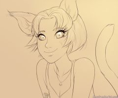 Meow by SandraCharlet