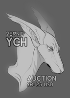 [CLOSED] Feral Vernid Bust Auction by Dinonyx