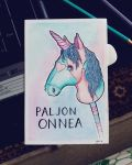 unicorn dirthdaycard by 1idiz