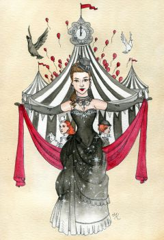 The Night Circus by Kitty-Grimm