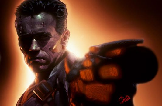 Terminator 2 by Disse86