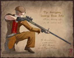 Steampunk Character by Hyptosis