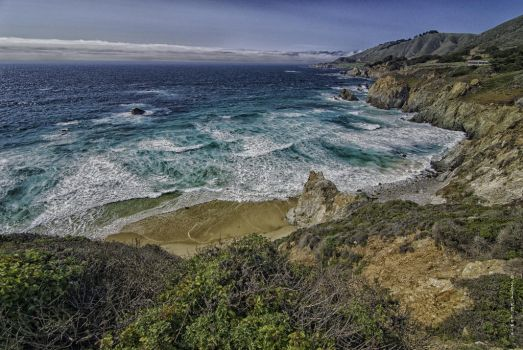 Hurricane Point CA Seascape Vista by SempreSirena