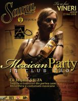 flyer ClubTAO - Mexican PTY by semaca2005