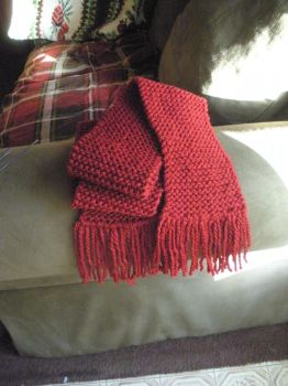 Another Red Scarf by Susan-Snap-Dragon