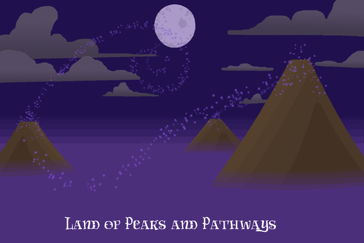 Land of Peaks and Pathways by LindorChocolate
