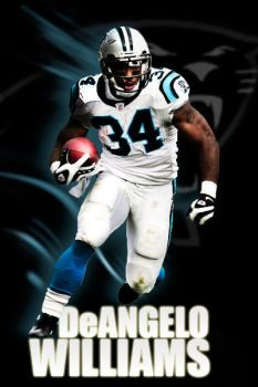 DeAngelo Williams by 2canart