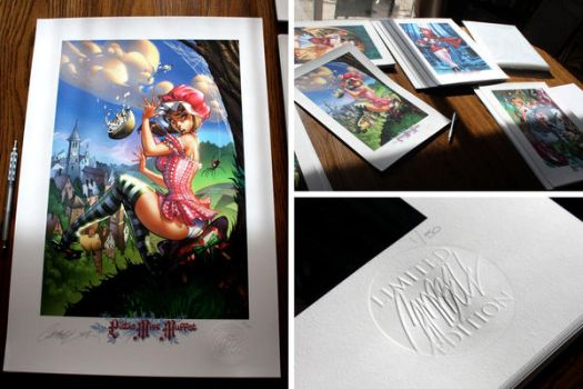 JSC Limited Editions by J-Scott-Campbell