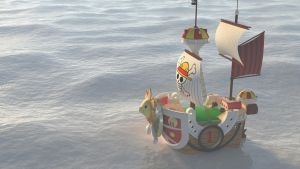 One Piece, 3D Thousand Sunny by tribalise