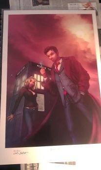 My Doctor Who Poster by AsylumBeauty