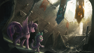 Memento of the Times Long Gone by Huussii