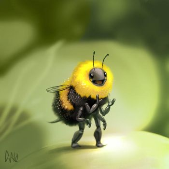 Bumble Bee by CBSorgeArtworks