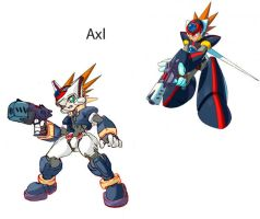 Megaman ZX Live Metal: Axl by BarryBurton